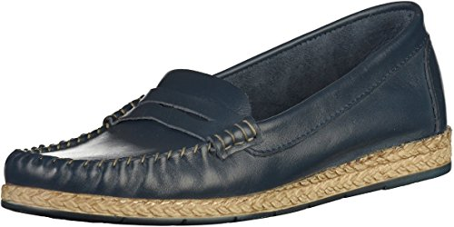 Tamaris 1-24643-28 Damen Slipper Blau(Navy)