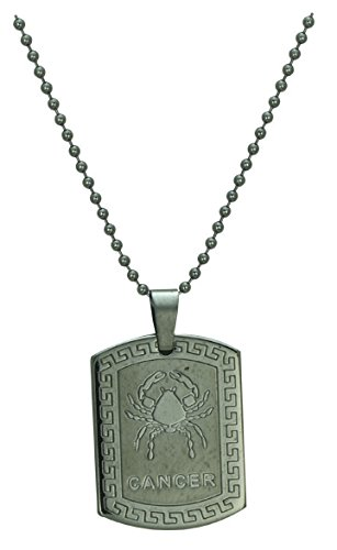Pure Life Cancer Zodiac Pendant Chain