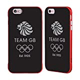 Official Team GB British Olympic Association EST Grey Logo Red Fender Case for iPhone 6 Plus/iPhone 6s Plus