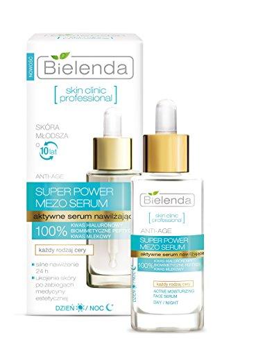 Skin Clinic Professional Super Power Mezo Serum Actively Hydrating Anti-Age Day Night Serum 30ml by Bielenda