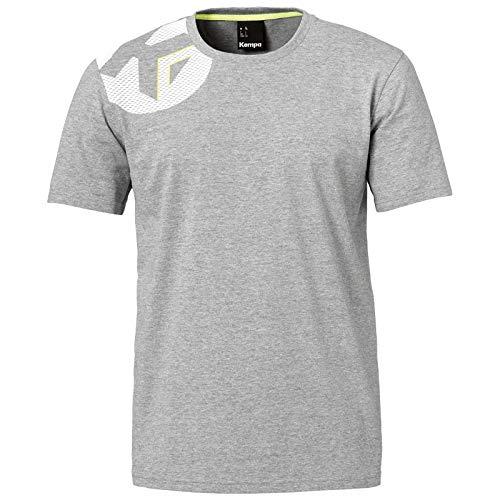 Kempa Kinder Core 2.0 T-Shirt Dark grau Melange 152
