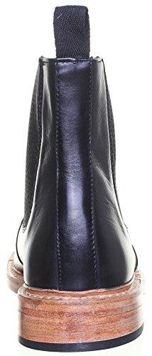 Reece Justin Dylan renforcées en cuir GoodYear mat pour chaussures Noir - Black 4SQ