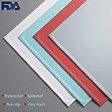 PETKIT Futtermatte für Haustiere, FDA-Qualität, Silikon, Wasserfest, Auslaufsicher, rutschfest, Zusammenklappbar, Tragbar, für Futter und Wasser, 47 x 34 cm' (Weiß)