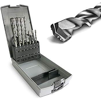 Import Allemagne AEG 4932352236 Powerset Coffret de 8 forets marteau SDS-plus