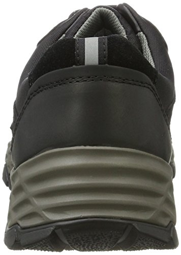 Camel Active Hill GTX 11, Sneakers Basses Homme Noir (Black)