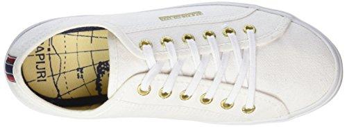 Napapijri Mia, Baskets Basses femme Blanc - Weiß (white N29)