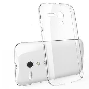 Cubix Ultra Thin Hard Case For Motorola Moto G XT1033 (Transparent)