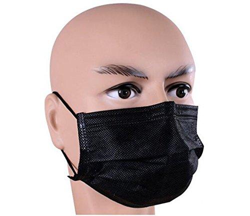 50pcs einweg Cechya Maske mit unabhängiger Verpackung Anti Staub atmungsaktiv 4Schicht Aktivkohle Filter Mund Gesichtsmaske Medical Dental Chirurgischer Grippe Face Masken (Dental-maske)