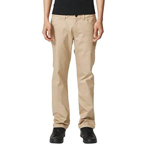 adidas Herren Five-Pocket Stretch Twill Hose, St Cargo Khaki, 32-32 - Five-pocket-stretch-twill