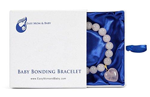 rose-quartz-baby-bonding-bracelet-by-easy-mom-and-baby-nursing-bracelet-for-breastfeeding-perfect-un