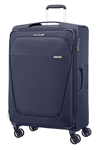 SAMSONITE VALIGIA TROLLEY SPINNER 4 RUOTE Grande B-LITE 3 Super light Blu 39D007