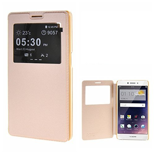 more photos 0b907 3b866 Xiaomi Redmi Note 4 Window Leather Premium Flip Cover for Xiaomi Redmi Note  4 GOLD