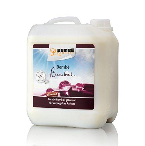 Bembé Bembal Parkettpflege GLÄNZEND für versiegeltes Parkett 5 Liter