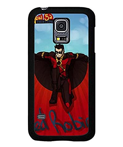 Red Robin Costume Dc - Galaxy S5 Mini Coque Case DC Red