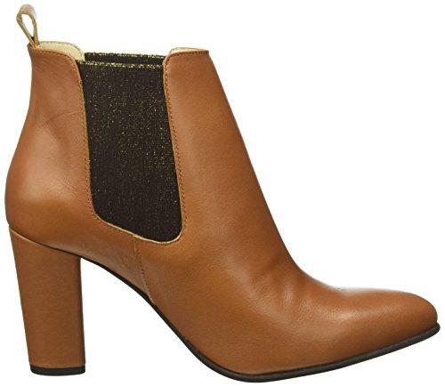 TAPODTS Damen Aria 1.2 Chelsea Boots Braun (Cognac)