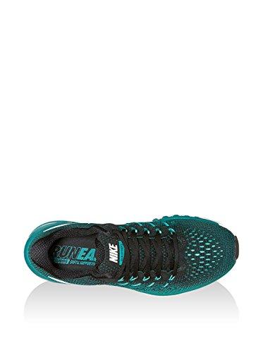 Nike Air Zoom Odyssey 2, Scarpe da Corsa Uomo Nero (Nero / Bianco-vertice di Rio del Teal-Hyper Turq)