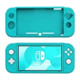 STHIRA® Cover for Nintendo Switch Lite Case, Anti-Slip Soft Silicone Cover Case Protective Shell for Nintendo Switch Lite Console - Turquoise
