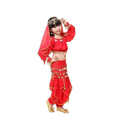 genmantel Gr. 38, rot (Egyptian Fancy Dress Frauen)