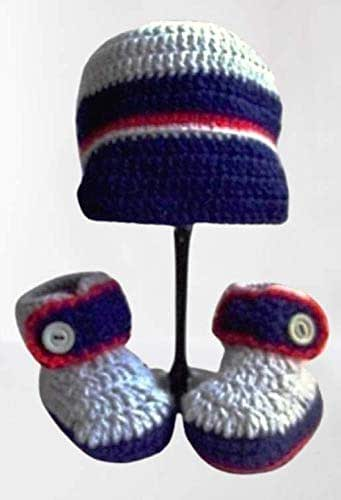 Scaroine e cappello per bambino, Scarpe e cappello per neonato, Scarpe e cappello per bebe