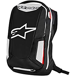 Motorcycle Alpinestars City Hunter Backpack 25L - Black/White/Red