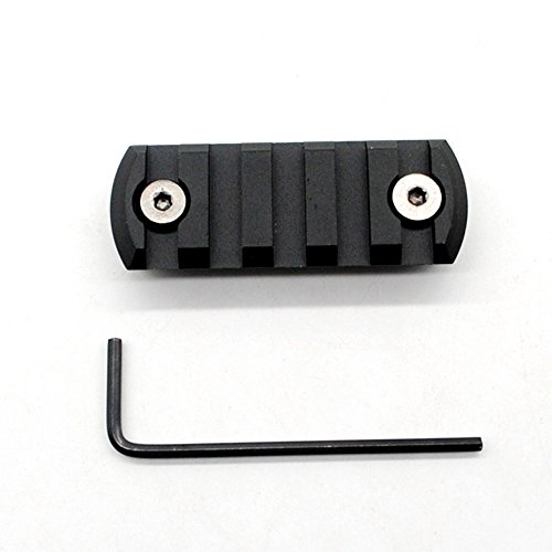 Trirock Picatinny Rail Section for keymod with 5 Slots