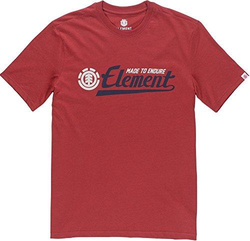 Element Signature T-Shirt Rot