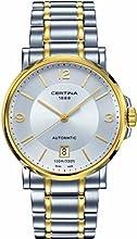 Comprar Certina  0 - Reloj de automático para 0, con correa de acero inoxidable, color dorado