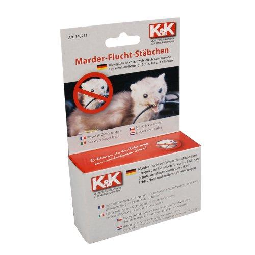 K&K Cartrend 140211 Anti Marderstäbchen - 2 Stück, Wirkungsdauer ca. 4-5 Monate