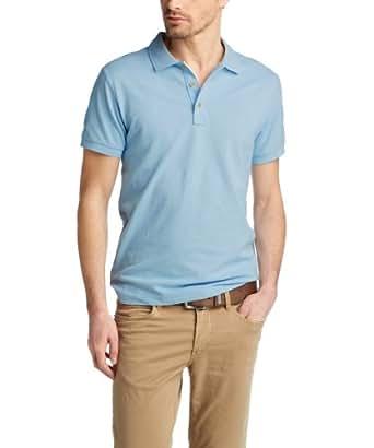 ESPRIT Herren Poloshirt Basic Piqué, Einfarbig, Gr. XXX-Large, Blau (DAWN SKY BLUE)