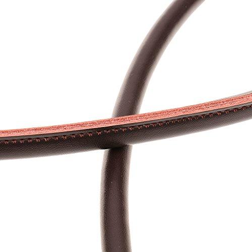 MagiDeal 2pz Cinturino Cinghie Spalla Manico Tracolla per Borsa Sacchetto Fai Da Te 60cm - Nero Caffè