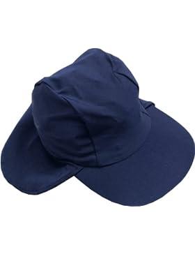 Smiling Shark UV-Hat - Gorra para niños, color azul marino, talla S (0-2 años)