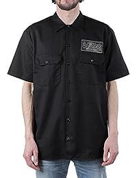 Gas Monkey Garage Work Shirt Hot Rod Service logo Official Mens Black S