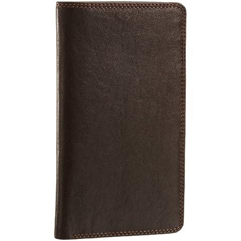 ViscontiBig Ben - cartera para noche, cartera para chaqueta, cartera grande, cartera de piel hombre