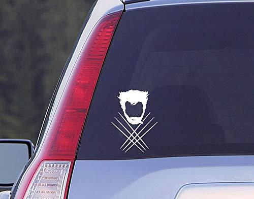 Atiehua Wandtattoo Vinyl Poster Aufkleber Windows Wolverine Aufkleber Auto Aufkleber Auto-Styling Dekor Aufkleber (Wolverine Wandtattoo)