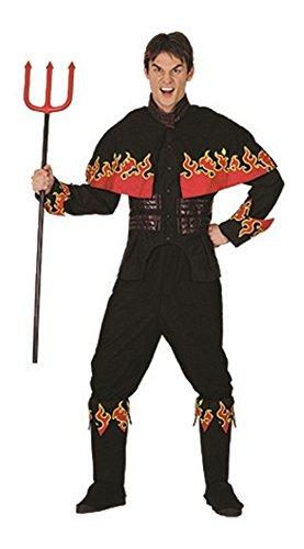 Erwachsene Halloween Flaming Devil Adult Kostüm Oneszie (Einheitsgröße, (2017 Kostüme Beliebtesten Jungen)