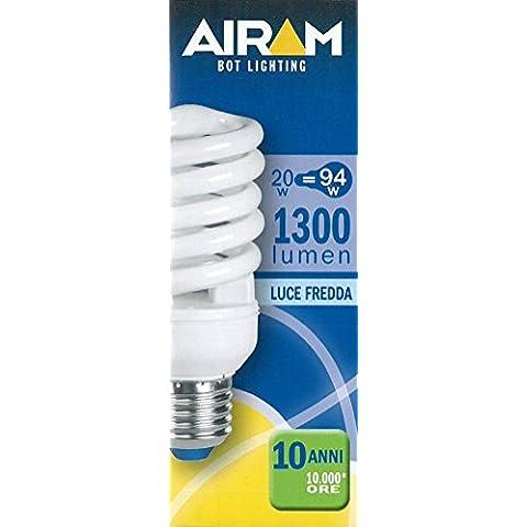 LAMPAD.RISP. COMPACT 20W E27 6500K ELC201D