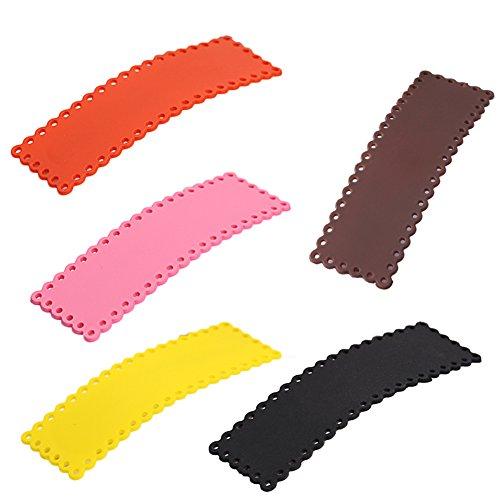 Toruiwa 10x Pinces à Cheveux Clips Noeud pour Filles Multicolore