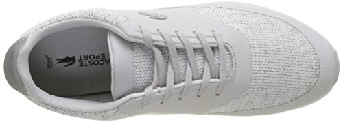 Lacoste Chaumont Lace 117 1 Spw Gry, Bassi Donna Grigio (Gry)