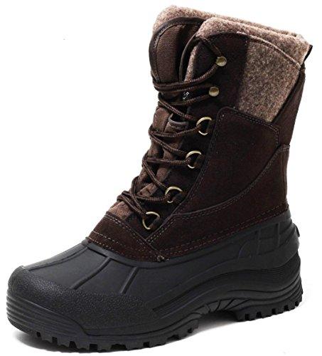 Canadian Boots Winterstiefel mit ALU Thermofutter warm gefüttert ECHT LEDER Gr.37-41 (38)