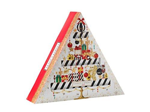Yankee candle 1521558- set regalo, 23lumini e 1candela votiva, calendario natalizio, 30x 5x 40cm
