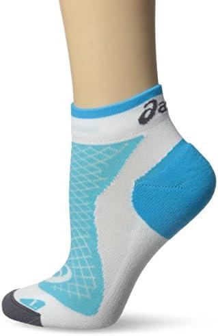 Asics Asics Asics donna' s Hera Deux mini Quarter Sock, Donna, bianca blu Atoll, Small | Conveniente  | Altamente elogiato e apprezzato dal pubblico dei consumatori  776c4f