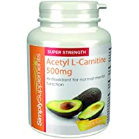 Acetil L-Carnitina 500mg | Favorisce la concentrazione