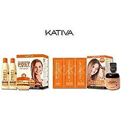 Kit Kativa Alisado Brasileño + Pack Post Tratamiento