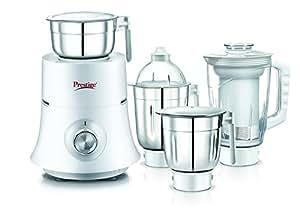 Prestige Teon Plus (750 Watt) Mixer Grinder with 3 Stainless Steel Jar+ 1 Juice Extractor Jar