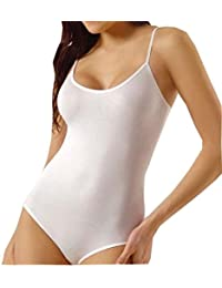 Lady Bella P0189 Body Faja Reductora Adelgazantes Mujer con Encaje Copas B sin  Aro sin Costuras 91a8840b244b
