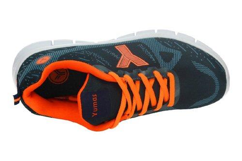 Yumas , Chaussures de sport d'extérieur pour homme Bleu / orange