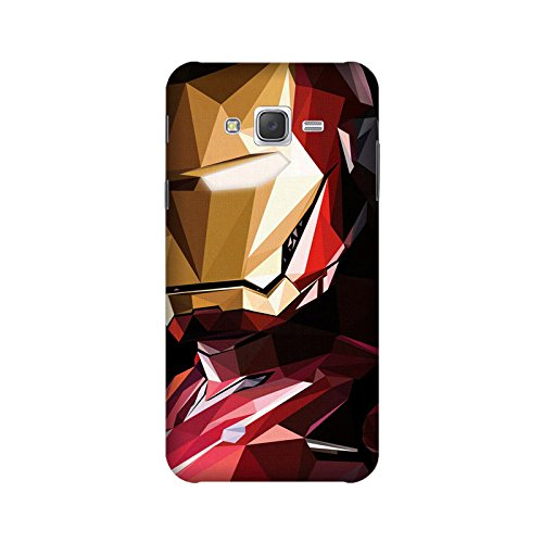 StyleO Premium Quality Designer Printed Case & Cover for Samsung Galaxy J2 (2015 Model) (Iron Man)