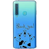 Oihxse Case Transparente Suave TPU Compatible con Samsung Galaxy S10 Funda [Lindo Caricatura Flor Serie Dibujos] Cristal Protector Carcasa Anti Rasguños Bumper Cover-Cerdo