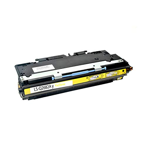 Q2682a Toner Kompatibel (Logic-Seek Toner kompatibel zu HP Q2682A Color Laserjet 3700 Yellow, 6.000 Seiten)