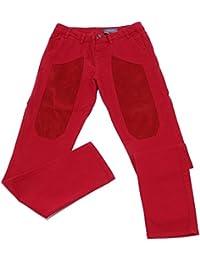 8292U pantalone bimbo JECKERSON rosso red trouser pant boy
